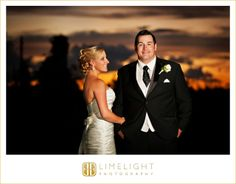 WALDORF ASTORIA ORLANDO, Florida, bride, wedding dress, white dress, groom, sunset, night wedding photography, wedding photography, Limelight Photography, www.stepintothelimelight.com