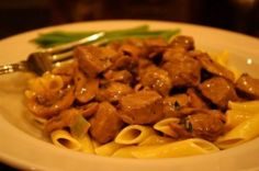Classic Beef Stroganoff is a hearty meal.