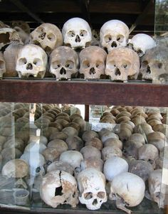 The Killing Fields / Skulls uncovered there