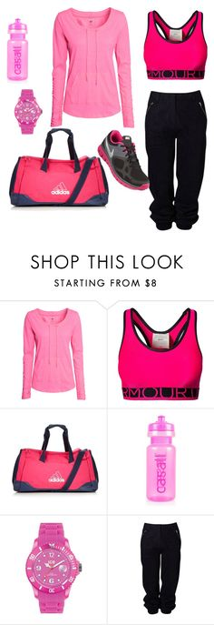 """Untitled #822"" by gone-girl ❤ liked on Polyvore featuring H&M, Under Armour, adidas, Casall, Ice-Watch, Witchery and NIKE"