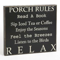 Collins Porch Rules Box Sign Collins,http://www.amazon.com/dp/B00E9UC2MQ/ref=cm_sw_r_pi_dp_t1Bhtb1Y4WZ8PEXK