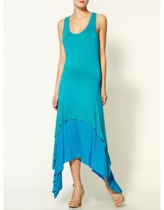 Loveappella High Low Tank Top Maxi...