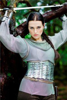Katie McGrath as Morgana ~ Merlin Merlin Tv Series, Merlin Cast, Bbc Tv Series, Katie Mcgrath, Morgana Le Fay, Merlin Morgana, Emrys Merlin, Larp, Oc Fanfiction