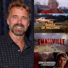 Today I want to say Happy Birthday to the talented John Schneider who turns Bo Duke, Jonathan Kent, John Schneider, Smallville, Leather And Lace, Year Old, Things I Want, Tv Shows, Happy Birthday