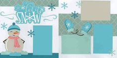 Let It Snow Page Kit