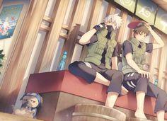 Noice Noice Noice Kakashi and Obito Naruto Shippuden, Boruto, Yamato Naruto, Kakashi Sensei, Anime Naruto, Anime Manga, Naruto Boys, Naruto Teams, Naruto Pictures