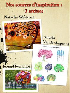 Art : les arbres selon 3 artistes - Le cartable de maîtresse Séverine