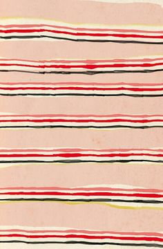 """Watercolour stripes by ashley g """"vintage blanket"""" pattern Geometric Patterns, Textile Patterns, Textile Design, Textiles, Surface Pattern Design, Pattern Art, Stripe Pattern, Pretty Patterns, Color Patterns"""