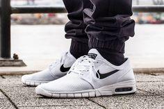 Nike SB Stefan Janoski Max: White/Black