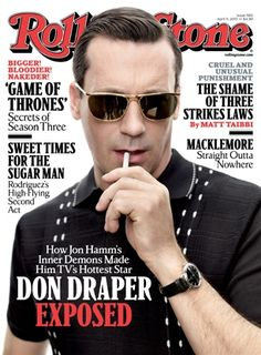 Mad Men's Jon Hamm on the April 11, 2013 cover.