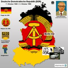 Eastern Germany: the Deutsche Demokratische Republik (DDR), West Berlin, Berlin Wall, History Of Germany, Ddr Museum, Warsaw Pact, The Third Reich, East Germany, Military Photos, Cold War