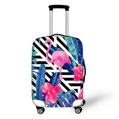 2d684ef9f FORUDESIGNS 3D Unicorn Cat Luggage Protective Cover Anti-Scratch Luggage  Cover for 18