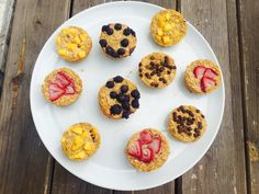 Customizable Baked Oatmeal Cups