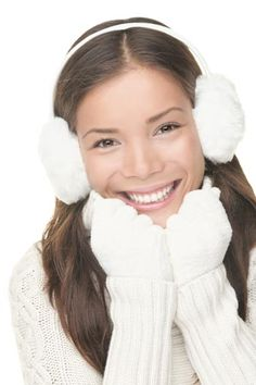 It's getting cold outside. Protect your skin.