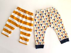 just hatched baby leggings by madebyrae | 3-6 month free pattern