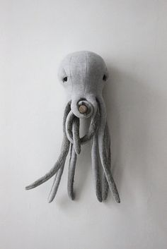 A giant octopus stuffed animal to cuddle with.