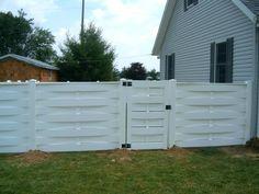 Basket Weave  Privacy Fence | Mount Hope Fence
