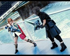 Our Final Fantasy 13 and 15 Lightning and Noctis cosplays!  So excited to be making a NEW Final Fantasy 15 Noctis cosplay this year just in time for the game to come out! Now I'm super pumped to be able to cosplay him again since the first time I cosplayed him 10 years ago and also celebrate almost exactly 10 years of Ven and me cosplaying as a team as Deep Dive Cosplay!  This is a picture of when I cosplayed Noctis when his design was first released. It's changed quite a bit since then.  We…