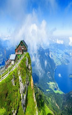 View from Schafberg mountain, Austria