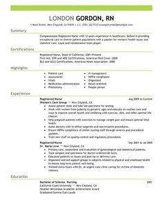 Nursing Resumes Skill Sample Photo Finding My Dream Job