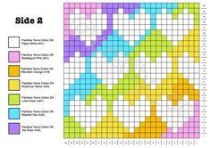 Crochet Cushion Pattern: A Perfect Match - Crafty CC Crochet Cushion Pattern, Graph Crochet, Pixel Crochet, Crochet Gratis, C2c Crochet, Crochet Cushions, Crochet Blocks, Crochet Home, Crochet Poncho