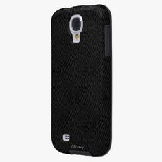 It's cool! This Black Leather Look Samsung Galaxy S4 Case is completely customizable and ready to be personalized or purchased as is. Click and check it out!