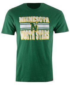'47 Brand Men's Minnesota North Stars Stripe Knockaround Club T-Shirt
