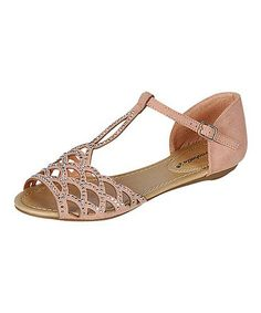Love this Nude Rhonda Sandal by Breckelle's on #zulily! #zulilyfinds