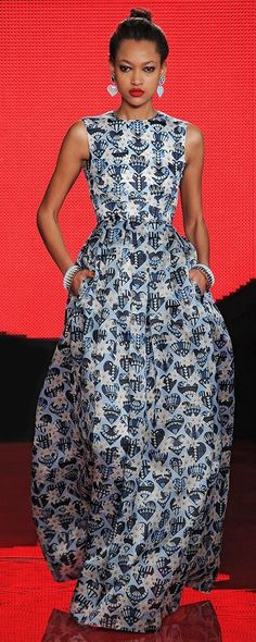 Holly Fulton London Fashion Week ~African Prints, African women dresses, African fashion styles, african clothing