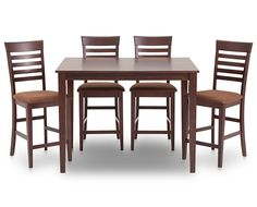 height group rich chocolate coloring black friday  piece dining set: height piece rich