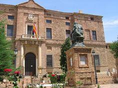 Palacio de Viso del Marqués (Ciudad Real, #Spain) Bandera de España
