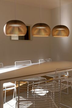 Atto 5000 pendants in a Helsinki home. Photo by Uzi Varon.