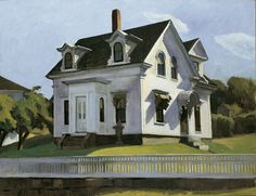 Edward Hopper, Hodgkin's House, 1928