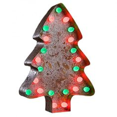 Vintage Marquee Lights Christmas Tree Vintage Marquee Light   Pure Home