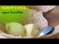 vegane Eiswaffeln - Kochs vegan