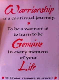 """""""Learn to be Genuine in every moment of your life."""""""