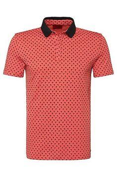 37b67d5917e 79.95. Regular Fit Cotton Polo Shirt for Men from Hugo Boss. Ship worldwide