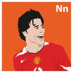 N is for Ruud van Nistelrooy. #atoz #tpitr