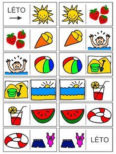 Pro Šíšu: Letni domino - vesele prazdniny prejeme :-)