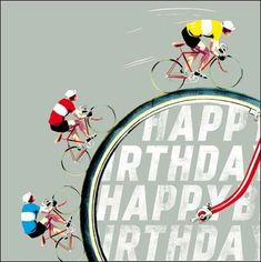 Buy Woodmansterne Man Cycling Birthday Card from our Greetings Cards range at John Lewis & Partners.