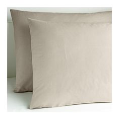 IKEA - DVALA, Pillowcase, Queen, , Cotton feels soft and nice against your skin.