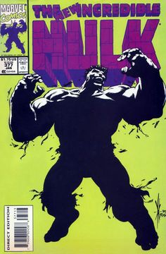 The Incredible Hulk #377 rare 3rd Print. Click on the picture for more information...