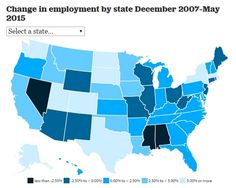 States Still Not Recovered Jobs Lost In Recession - FinanceGourmet