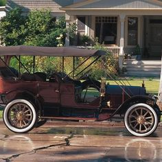 1911 Pope-Hartford  Model W 7-Passenger/Touring at The Nethercutt Museum Sylmar, CA #Kids #Events