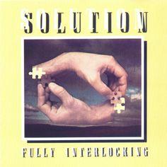 1977 Solution - Fully Interlocking [Rocket 5C-062-99506 / 1C-064-99506] ※reissue: 1980 CBS [84384] ; 1988 CBS [461051-2] cover artwork inspiration: M.C. Escher - Drawing Hands (1948) #albumcover