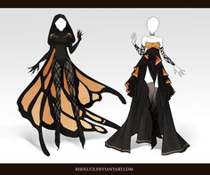 (CLOSED) Adoptable Outfit Auction 33 by Risoluce.deviantart.com on @DeviantArt