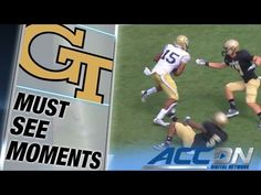 Georgia Tech's DeAndre Smelter Breaks Off 71 Yard TD | ACC Must See Moment