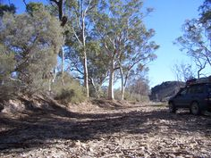 A dry creek bed in the Flinders Ranges, South Australia / This is Hans Heyson country - an artist renowned for his paintings of this region.