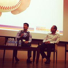 Practice your networking - Andrew Chan - TMS Asia Pacfic - @webintravel- #webstagram #webintravel #witnext #traveljobcamp #summercamp