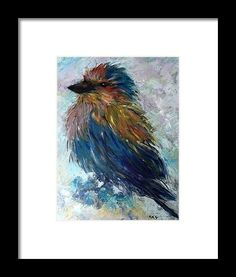 Lilac Breasted Roller Framed Print by Kelly Goss Lilac Breasted Roller, Wall Art For Sale, Wild Dogs, Bird Art, Special Gifts, Spice, Wildlife, Elephant, Sketches